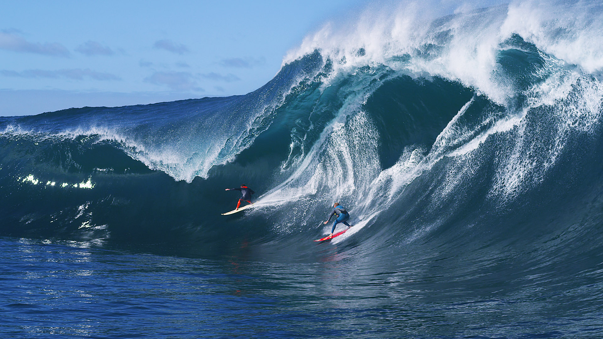 One Palm Media Surf Image Taj Burrow Mark Mathews The Right Red Bull Red Epic Red Digital Cinema Water Cinematography